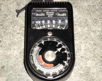 Vintage 70s Weston Master Exposure Meter - Camera Film