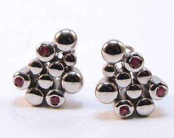 silver 925 earrings, JUGGLING Collection
