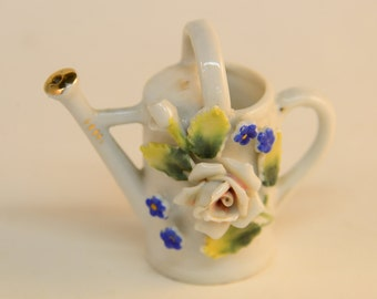 Tiny Ceramic Watering Can - Japan