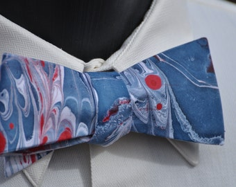 Patriotic Bow Tie Made in Asheville NC MM-USA#15-42