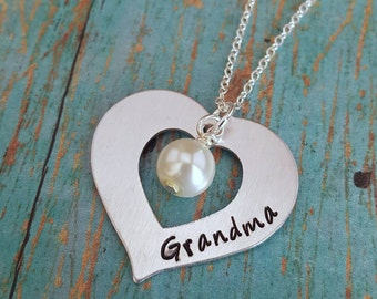 Grandmother's Necklace - Grandma Necklace - Necklace for Grandma - Gift for Grandma - Gift for Nana - Gift for Meemaw - Gift for Oma