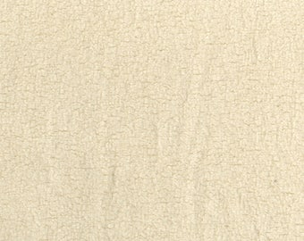 Organic Cotton Sherpa from Michael Miller OC3620-NAT by the yard metre natural