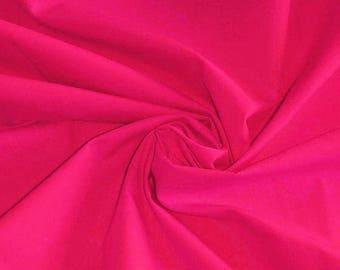 Plain fabric fuchsia 40 x 150 cm