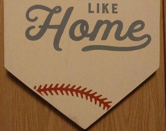 Home plate sign