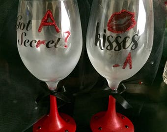 Themed Party Wine Glasses