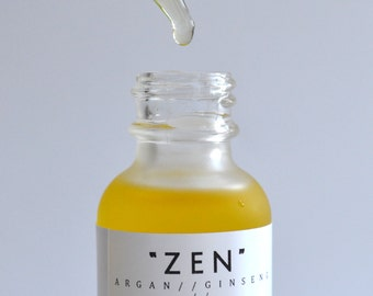 Balancing Face Oil, Face Oil for Normal, Dry Skin, Ginseng, fragrance free, face moisturizer