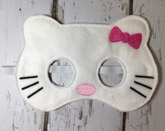 White Kitty mask