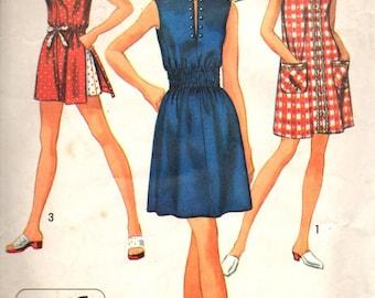 Simplicity 8834 1970's Shift Dress