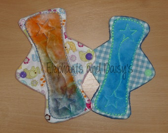 Soft Top CSP Stars / Sanitary pad ITH Embroidery design file