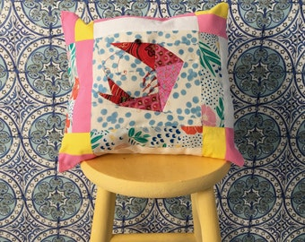 Dotty Prawn Cushion