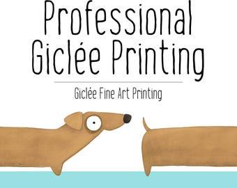 Professional Printing, Giclée Fine Art Printing