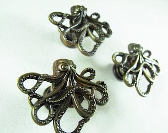 Quick View. Bronze Octopus Drawer ...