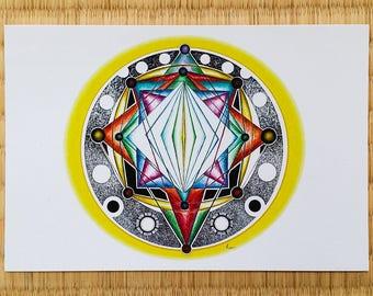 Yao's Constellation - Postcard