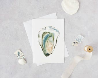 Oyster Greeting Cards - Set of 3