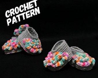 CROCHET booties pattern, crochet newborn booties, crochet shoes, 0-12 month size , 12-36 month , baby shower, crochet easy pattern, pdf