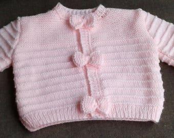 Jacket size 3 months pink
