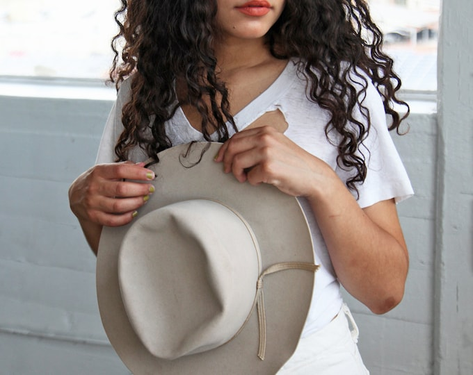 Taupe Stetson Hat