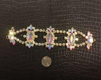 A.B. Deco Rhinestone Bracelet