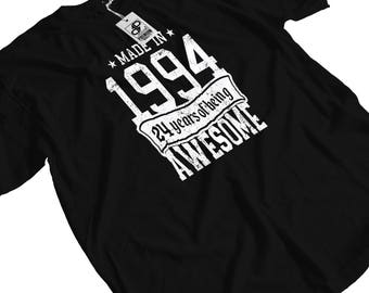 Made in 1994 - 24 years of Being Awesome T-Shirt