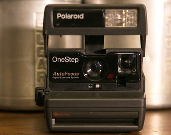 Polaroid OneStep AF 600 Instant Camera - Tested! #PD22
