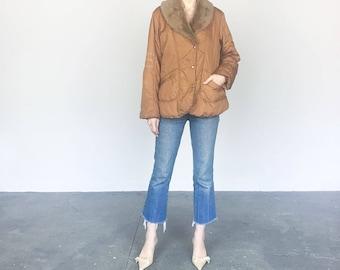 Cinnamon Brown Lightweight Jacket (L)