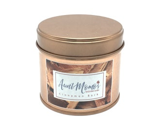 Cinnamon Bark Scented Container Candle