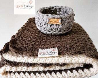 Handmade Crochet Baby Blanket | Crochet Afghan | Crochet Lap Blanket