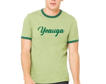 Yeauga Brand Screen Printed Tee - Mens