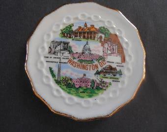 Nice Washington D.C., Souvenir Plate,   FREE SHIPPING