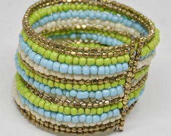 Colorful Adjustable Bangle Bracelet