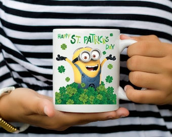Minion Happy St Patricks Day Coffee Mug