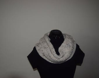 Infinity Scarf, Gift Ideas, Hand Knit Scarf, Ladies Scarf, Ladies Accessorise, Fancy Ladies ,  Handmade Item , Handmade Gift
