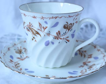 Vintage Russian Cup and Saucer