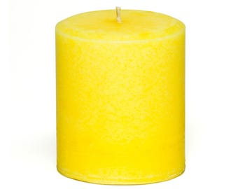 Paradise Scented Tropical Pillar Candle
