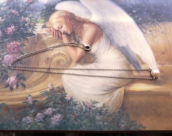 Goregeous Sterling Silver Pearl Necklace