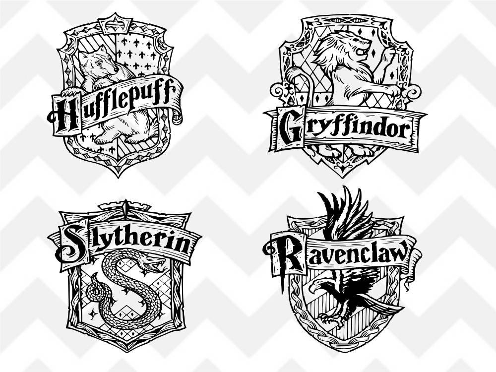 harry potter svg harry potter houses harry potter crest. Black Bedroom Furniture Sets. Home Design Ideas