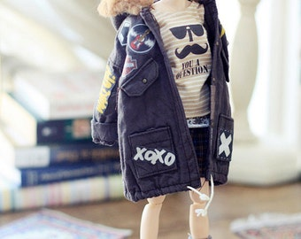 Sugarbabylove - New Patched jumper for Momoko