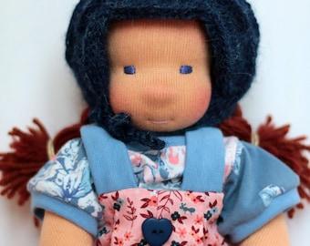Anika, waldorf inspired doll