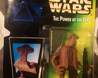 """Vintage STAR WARS - The Power of the Force, 3 3/4"""" Action Figures, Collections 1 & 2. You Pick! New in Package, 1996/97 Star Wars Figures"""