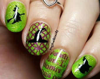 Witch Nail Decal