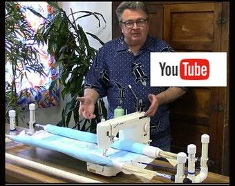 Machine Quilt Frame Kit, Artisan
