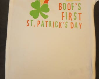 Personalized First St. Patrick's Day