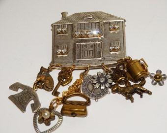 Vintage Custom Large Brooch