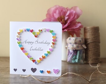 Dad birthday card daddy card father card handmade handmade personalised birthday card personalized happy birthday card name brother sister bookmarktalkfo Gallery