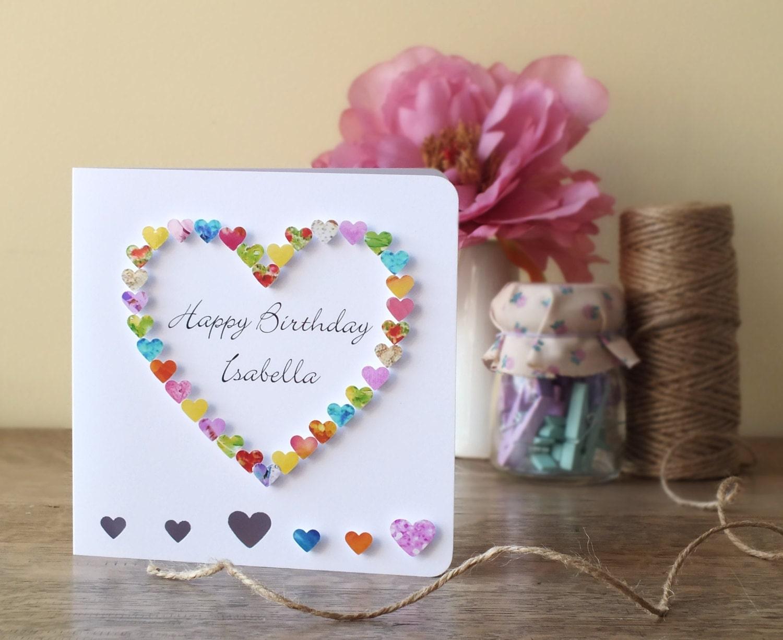 Birthday Cards Handmade ~ Cool handmade birthday card ideas happybirthday