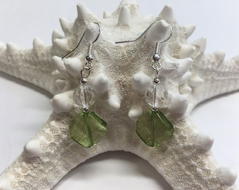 Emerald Jewel handmade earrings
