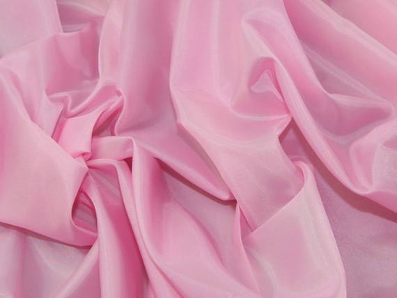 Antistatic acetate lining, light pink