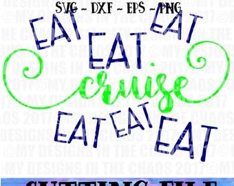 SVG File/ Cutting File/ Summer Cut File/ Cut File for Silhouette / cut file for cricut / Summer svg / Cruise cutting file / Cruise SVG