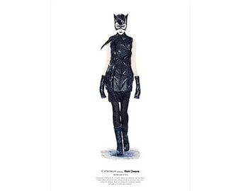 He Wears It 014 - Catwoman wears Rick Owens   (limited edition)