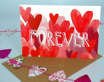 Greetings Card - Forever
